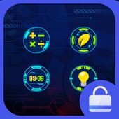 New horizon Locker theme icon