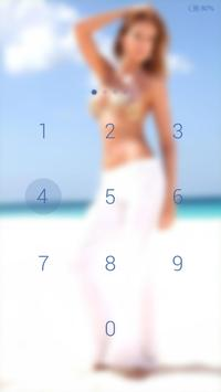 Sexy girl - beach # iDO Theme apk screenshot