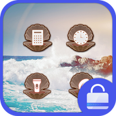 The Wave Lock screen theme icon