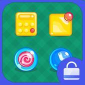 Candy World Locker theme icon