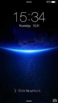 iDO Lock screen for OS 8 poster