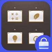 Tips Lock screen theme icon
