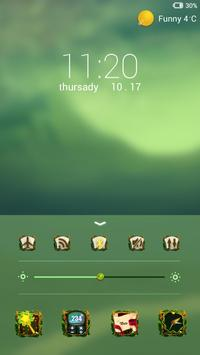 Wonderland Locker theme apk screenshot