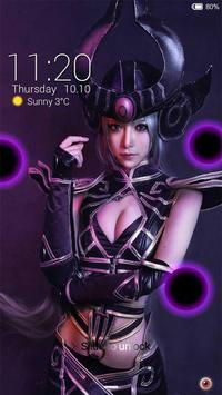 Syndra Dark Head Locker Theme poster
