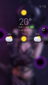 Syndra Dark Head Locker Theme apk screenshot