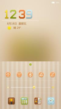 Wool felt locker theme apk screenshot