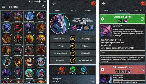 Guide For Dota 2 Heroes apk screenshot