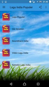 LAGU INDIA POPULER poster