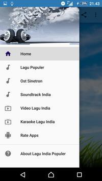 LAGU INDIA POPULER screenshot 1