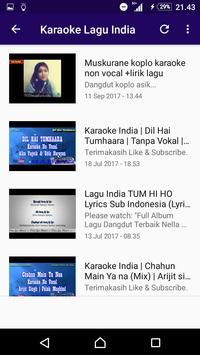 LAGU INDIA POPULER screenshot 4