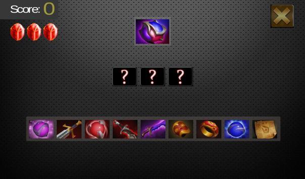 Quiz for DOTA 2 apk screenshot