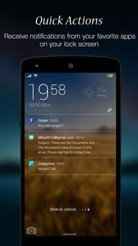 FingerFeed - Lock Screen apk screenshot