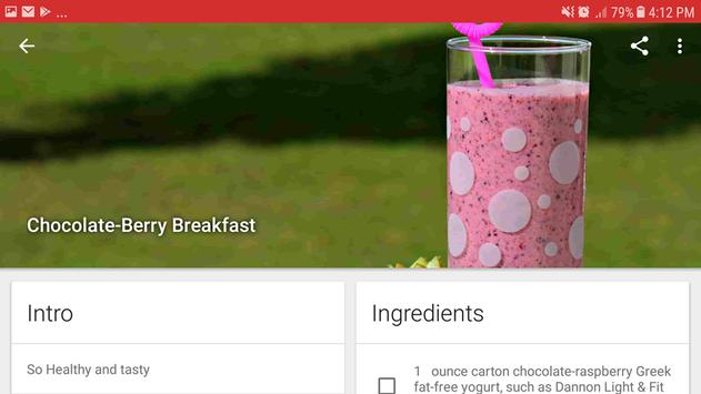 Healthy Eat: Diabetic recipes and diet screenshot 6