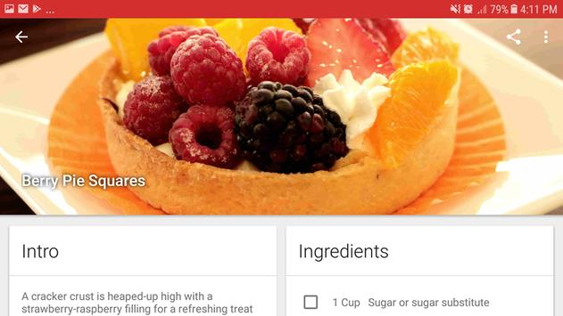 Healthy Eat: Diabetes recipes and diet screenshot 7