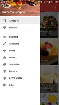 Healthy Eat: Diabetes recipes and diet screenshot 1