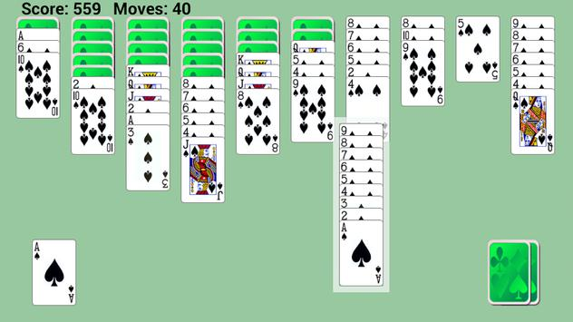 Spider Solitaire Game poster