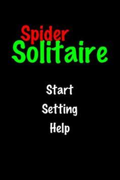 Spider Solitaire! apk screenshot