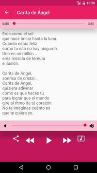 Carita de Ángel Música apk screenshot
