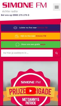 Simone FM poster