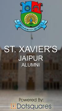 St. Xavier's Alumni poster