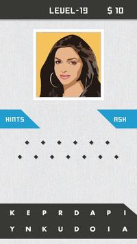 Guess Bollywood Celebrity Quiz apk screenshot