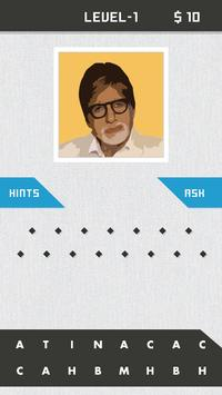Guess Bollywood Celebrity Quiz poster