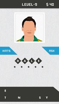 Guess The Cricketers Quiz apk screenshot