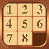 Sliding Wooden Block Puzzle icon
