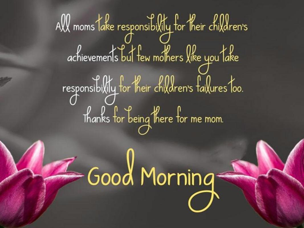 Good Morning Mom Photo For Android Apk Download
