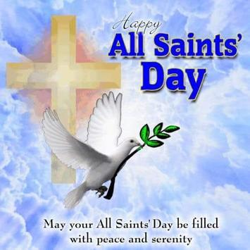 Happy All Saints' Day Greetings poster