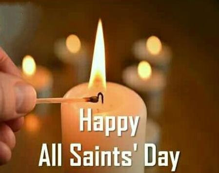 Happy All Saints' Day Greetings screenshot 1