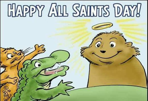 Happy All Saints' Day Greetings screenshot 2