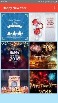 New Year Greetings 2018 apk screenshot