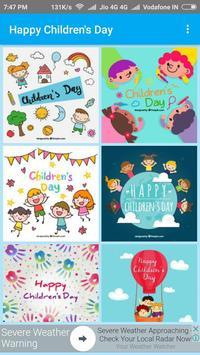 Happy Children's Day - Greetings apk screenshot