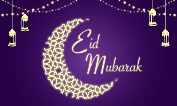 Eid Mubark Greetings poster