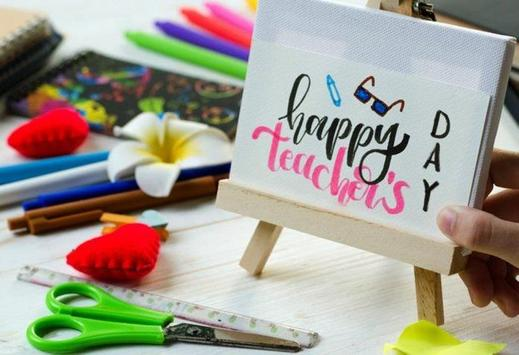Happy Teachers' Day Greetings poster