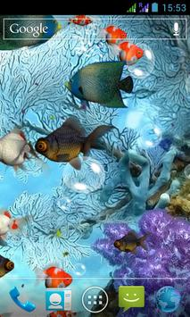 Aquarium 3D Live Wallpaper screenshot 1