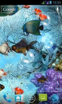 水族馆 3D 动态壁纸 截图 1