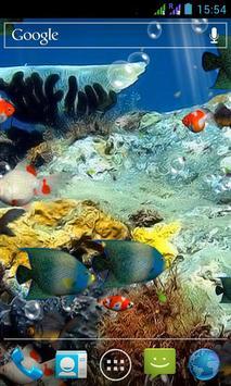 水族馆 3D 动态壁纸 截图 2