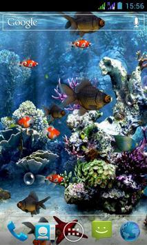 水族馆 3D 动态壁纸 截图 3