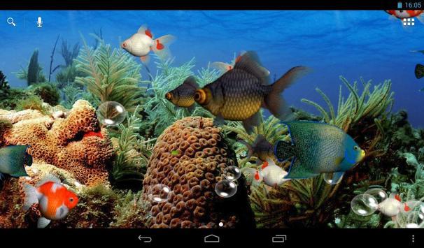 水族馆 3D 动态壁纸 截图 5