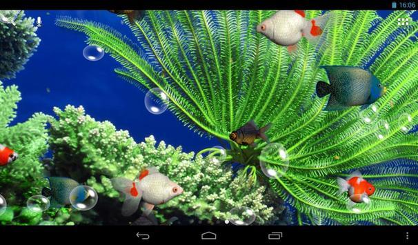 水族馆 3D 动态壁纸 截图 6