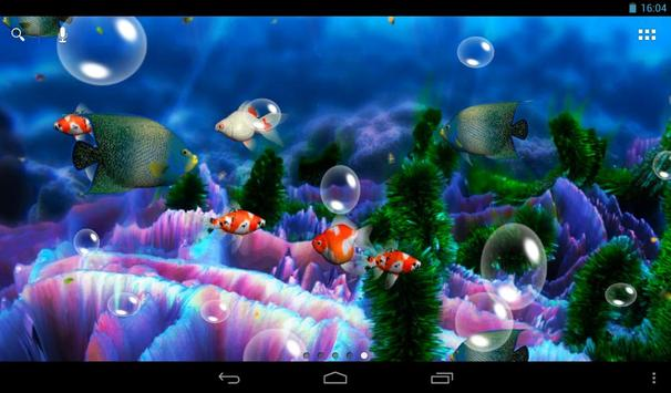 Aquarium 3D Live Wallpaper screenshot 7