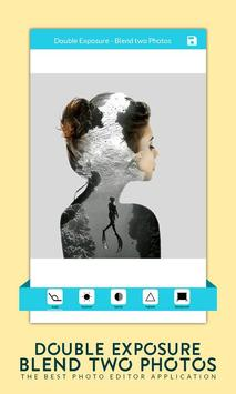 Double Exposure - Blend two Photos poster