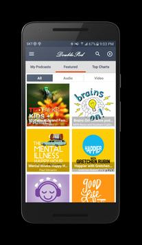 DoublePod Podcasts for android poster