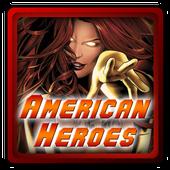 American superheroes icon
