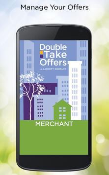DoubleTake Offers Merchant App poster