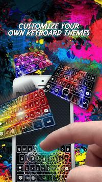 Colourful Neon Keyboard Themes screenshot 2