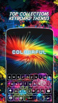 Colourful Neon Keyboard Themes screenshot 6