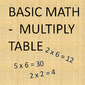 Multiply Table icon